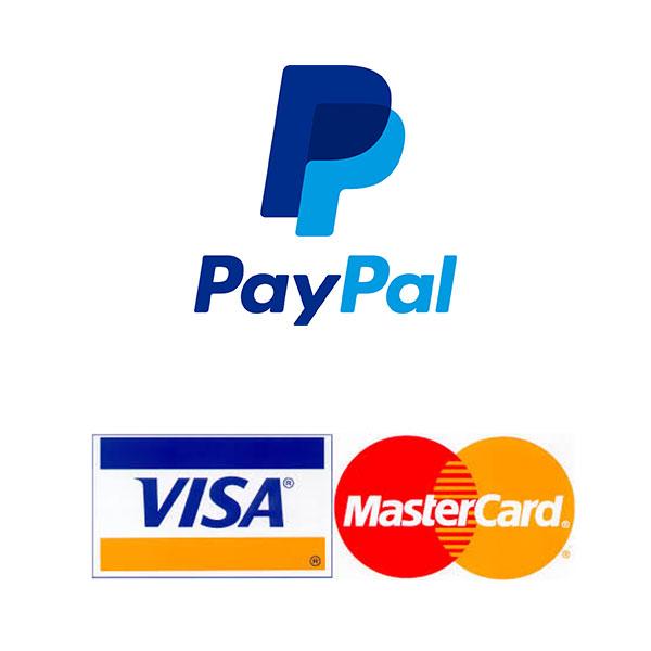 Credits Card & paypal